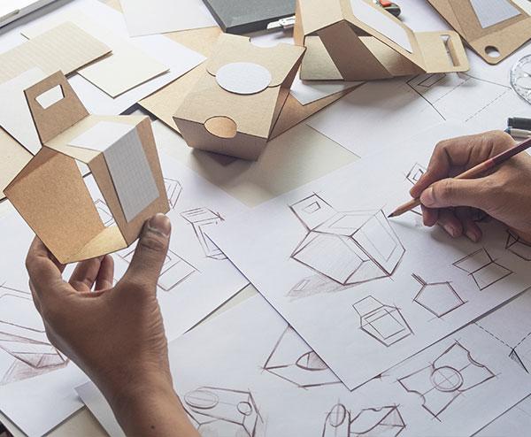 Grafica per packaging