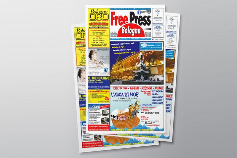 Impaginazione Free Press Bologna
