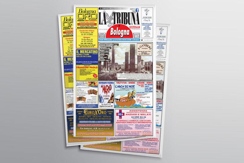 Impaginazione Giornale La Tribuna