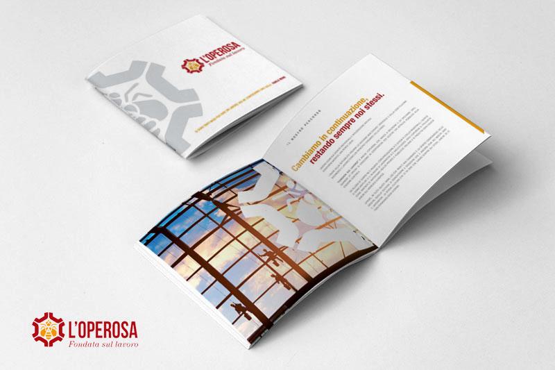 Realizzazione Company profile Operosa