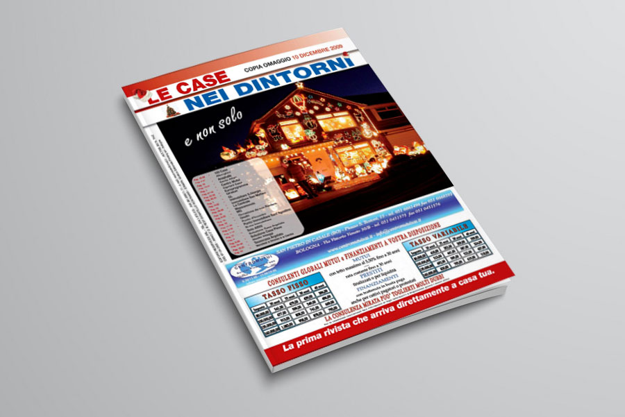 impaginazione mensile magazine