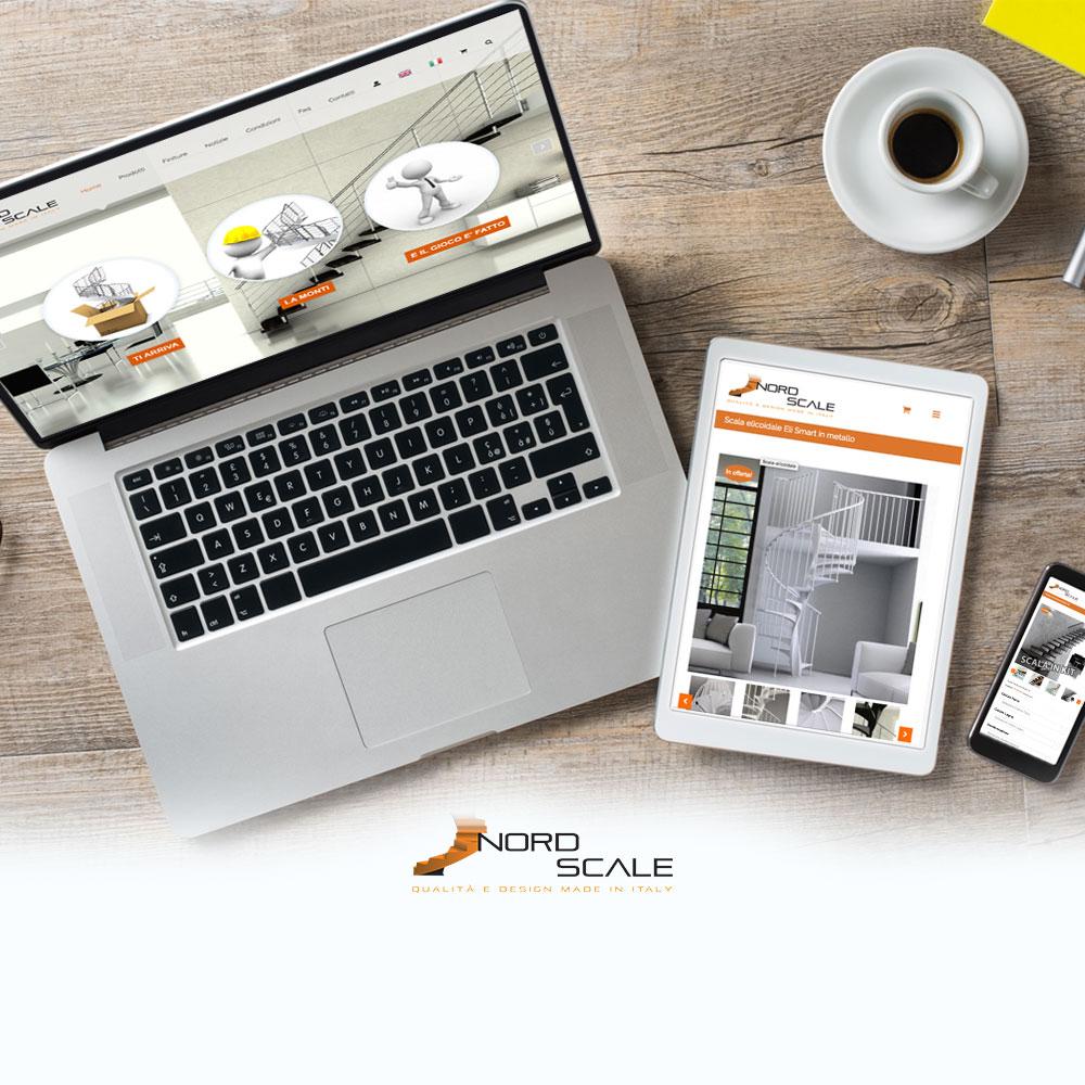 Realizzazione siti ecommerce Nord Kit Scale