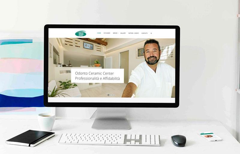 Realizzazione sito web laboratorio odontotecnico