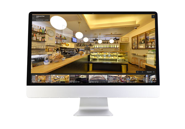 Tour virtuali interattivi