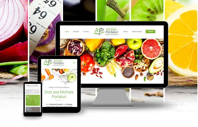 Realizzazione siti web studi medici biologa nutrizionista